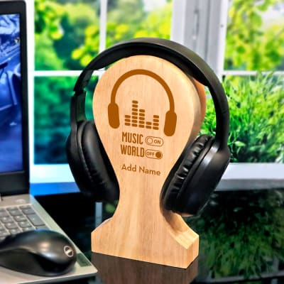 Wireless Bluetooth Headphones with Personalized Stand