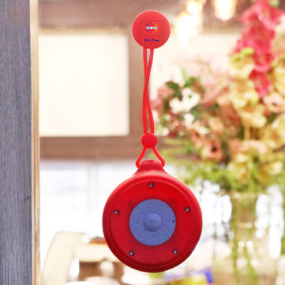 Wireless Speaker with Lanyard & Suction - Customized with Logo & Name