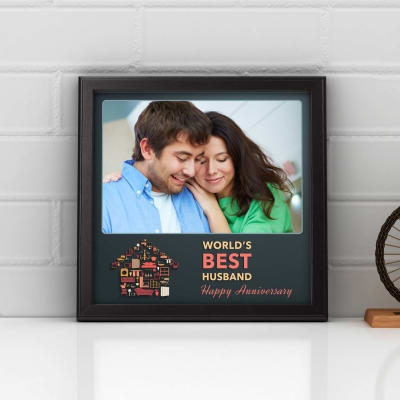 World\'s Best Husband Personalized Anniversary Photo Frame: Gift/Send ...