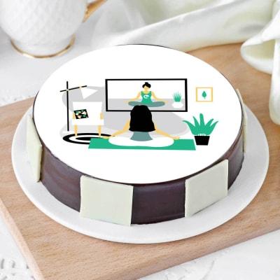 Yoga Partner Cake (Half Kg)