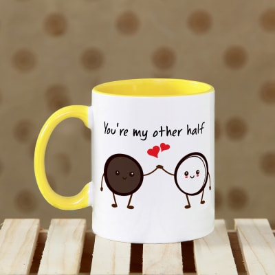 You are my Better Half Personalized Mug