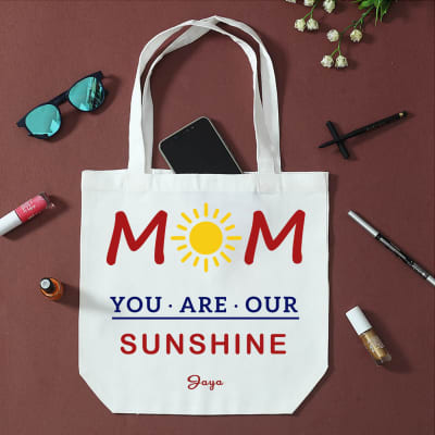 You Are Sunshine Personalized Shopping Bag