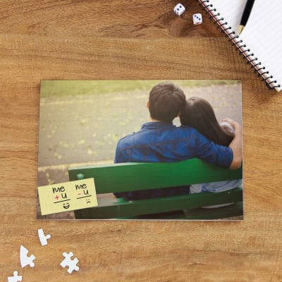 You & I Personalized A4 Puzzle