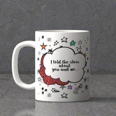 You & Me Personalized Mug