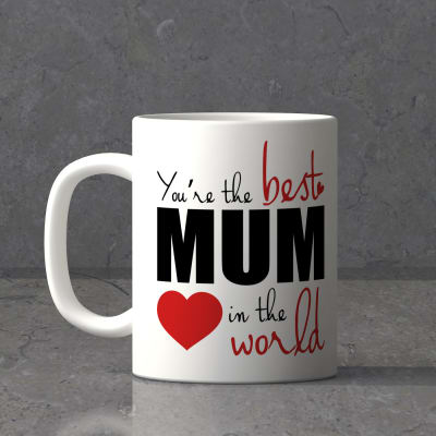 You Re The Best Mom Personalized Mug Gift Send Home And Living Gifts Online J11063983 Igp Com