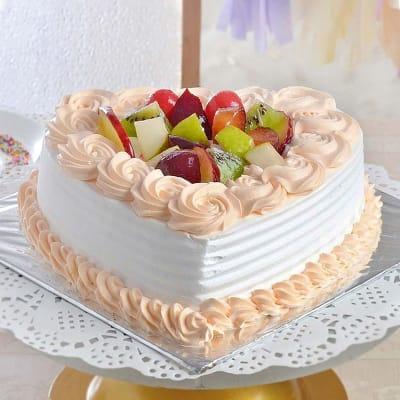 Brilliant Order Yummy Mixed Fruit Cake Half Kg Online At Best Price Free Personalised Birthday Cards Veneteletsinfo