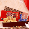 10 Cube Bites with 2 Snickers Chocolate in a Gift Box