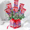 12 Kitkat Bouquet Arrangement Online