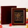 22 carat Gold Work Laxmi Vishnu Wooden Photo Frame