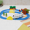 30 Pcs Intelligent Motorized Train PlaySet