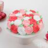 Abundant Roses Chocolate Cake (Eggless) (2 Kg)
