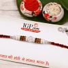 Alluring Pearl Beaded Rakhi