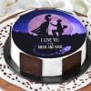 Amazing Love Proposal Cake (Half Kg)