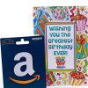 Amazon $25 Gift Card With Birthday Greeting Card