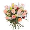 Arrangement of Roses and Lilies Online
