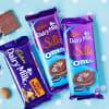 Gift Assorted Cadbury Chocolates in Wooden Tray
