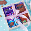Assorted Cadbury Chocolates in Wooden Tray Online