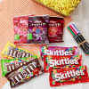 Assorted Chocolates and Fruity Candies with Stationary Hamper