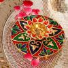 Auspicious Colorful Diya