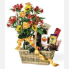 Basket of Gourmet Greetings