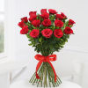 Gift Beautiful 18 Red Roses Bunch