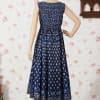 Buy Beautiful Indigo Blue Long Dress