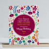 Buy Beautiful Moments Personalized Birthday Clock & Card combo