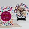 Beautiful Moments Personalized Birthday Clock & Card Combo Online