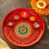 Beautiful Puja Thali