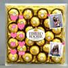 Best Mom Personalized Ferrero Rocher Box ( 24 pcs)