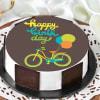 Bicycle Birthday Cake (Half Kg)
