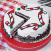 Shop Black Forest Christmas Cake (Half kg)