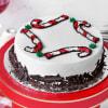 Black Forest Christmas Cake (Half kg) Online