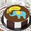 Blue Elephant Birthday Cake (1 Kg) Online
