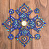 Blue Stone Designer Rangoli