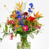 Bouquet: Color explosion; excl. vase