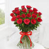 Gift Bouquet of 20 Red Roses with Cadbury Celebrations Box