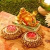 Buddha with Beautiful Diya Set