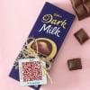 Cadbury Chocolate with Personalized Qr Code