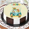 Camping Travel Van Cake (Half Kg)