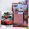 Cars Diary with Cars Notepad Medley and Pen Set