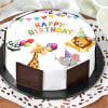 Cartoon Birthday Cake (1 Kg)