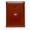 Chancellor A5 Tan Diary - Customized with Logo