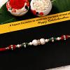 Charming Pearl Rakhi