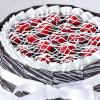 Shop Cherry Filled Chocolate Cake (Half Kg)