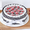 Cherry Filled Chocolate Cake (Half Kg)