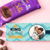 Chocolate With Personalized Wrapper Online