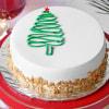 Christmas Butterscotch Cake (Half Kg) Online