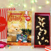 Christmas Card & Plum Cake in Gift box