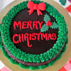 Gift Christmas Chocolate Cake (Half Kg)